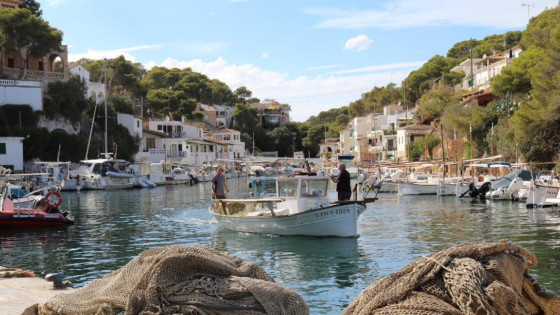 Fischer auf Mallorca - Cala Figuera