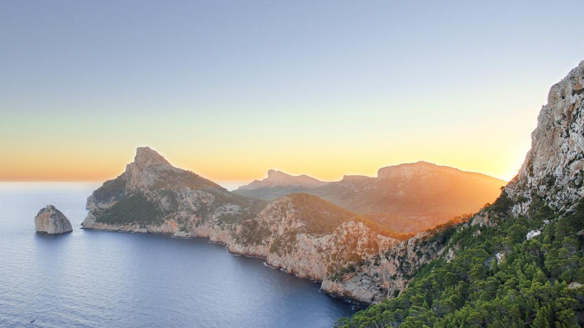 Cap Formentor am Abend - Sonnenuntergang Mallorca