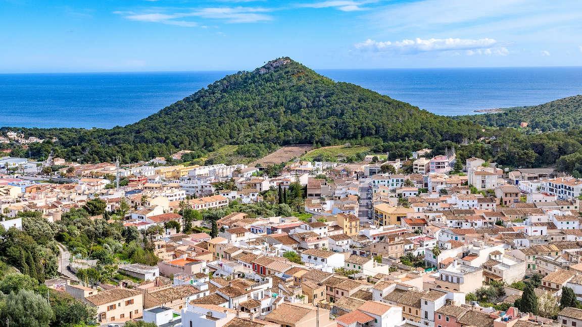 Capdepera im Norden von Mallorca