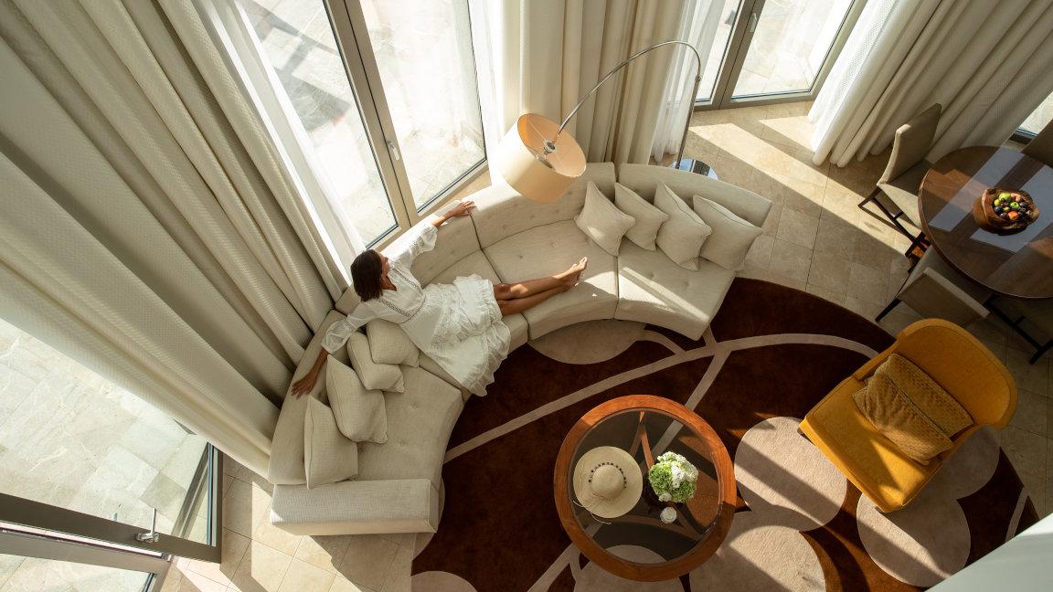 Mallorca-Jumeirah-Port-Soller-Signature Suite Lighthouse - Living Room 3
